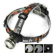 20000LM XM-L T6 LED 3AA Zoomable Emergent Headlamp Flashlight Camping Headlight