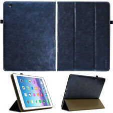 Cuero De Lujo COVER F. Apple iPad 2/3/4 Funda protectora tableta Smart CARCASA