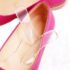 1Pair Women Fashion Silicone Gel Heel Cushion Shoe Insert Pad Insole H-4