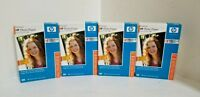 LOT of 4 - New 100-Pack Genuine HP Q1990A Premium Photo Paper  Glossy  4 x 6