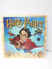 Harry Potter 2001 Calendar The Sorcerers Stone Images Sealed