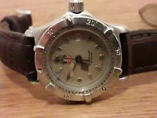 Autentico Tag Heuer Donna orologio subacqueo in acciaio inox
