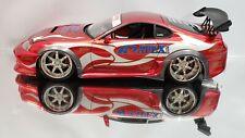 1/18 TOYOTA SUPRA VEILSIDE APEXI Import Racer Die-cast Modified Chrome Rims Rare