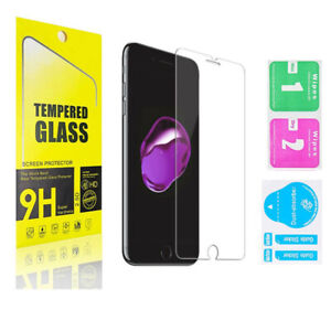 For iPhone 12 11 Pro Max XR X XS Max 8 7 Tempered GLASS Screen Protector