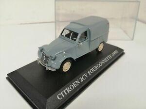 Citroën 2 CV Fourgonnette 1958 1/43 Édition Presse En Boite