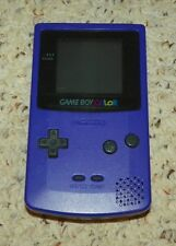 Gameboy Color - Handheld Video Game System - Purple / New Screen