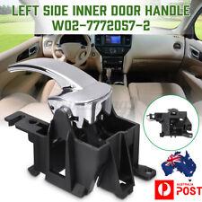 Left Inner Inside Door Handle For Nissan Navara D40 Pathfinder R51 2005-2013 LHS