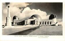 RPPC GRIFFITH OBSERVATORY Los Angeles, CA Starrett Photo c1940s Vintage Postcard