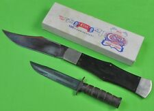 Vintage US 1989 CASE Tested XX 100th Anniversary HUGE Folding Knife & Box