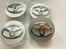 4x Toyota Wheel Center Hub Caps Silver 62Mm Top Quality! Usa Seller!