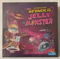Libellud Antonin Boccara Attack of the Jelly Monster Board/Dice Game New Sealed
