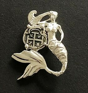 Mermaid Pendant ATOCHA Coin Sunken Treasure Jewelry Nautical