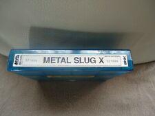 jeu arcade Neo Geo SNK cartouche MVS METAL SLUG X