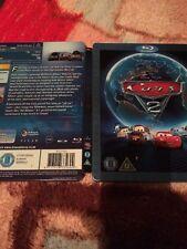 Cars 2 Blu Ray STEELBOOK Disney Pixar