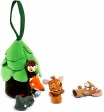 Aurora GRUFFALO'S CHILD FINGER PUPPET & Case Snake Owl Fox Mouse Child Gift -BN