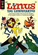 LINUS THE LIONHEARTED #1 Very Good, Cartoon, Gold Key Comics 1965