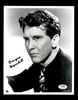 Burgess Meredith PSA DNA Coa Signed 8x10 Photo Certified Autograph