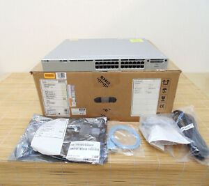 Neu Cisco WS-C3850-24T-E Switch 24 10/100/1000 Ip Services set New Open Box