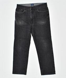 TRUSSARDI Mens Slim Fit Jeans W32 L27 Black Cotton Classic IX14