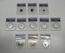 2018-S RP 70 DCAM Silver Reverse Proof 50th Anniversary Set W/ 18-S PF70 DCAM