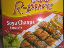 Soya Chaaps Chunks with Spices Mix Masala by MDH  R pure 100% Vegetarian 225g