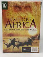 Explore Africa & Animals Around The World DVD Collection (10 Episodes) - NEW