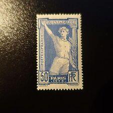 JEUX OLYMPIQUES DE PARIS 1924 N°186 NEUF ** LUXE GOMME D'ORIGINE MNH COTE 115€
