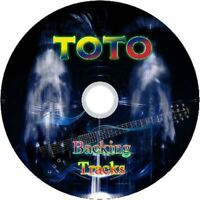 TOTO GUITAR BACKING TRACKS CD BEST GREATEST HITS MUSIC PLAY ALONG MP3 ROCK