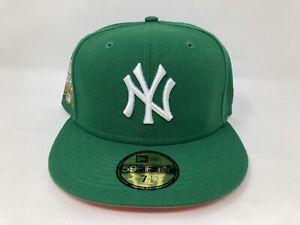 New Era New York Yankees Liberty & Big Apple 59FIFTY Hat MLB Green Size 7 1/2