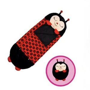 Children Happy 2 in1 Play Pillow Sleeping Sack Bag Baby Kids Girls Boys Nappers