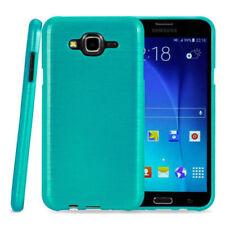 Cover e custodie Blu modello Per Samsung Galaxy J7 in silicone/gel/gomma per cellulari e palmari
