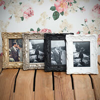 Ornate Swept Shabby Chic Vintage Antique Style 6x4 Photo Frames by Sixtrees
