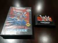 Cyborg Justice (Sega Genesis, 1993) Cartridge and  case