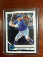 2019 Donruss Optic Rated Rookie Holo #82 PETE ALONSO RC Mets