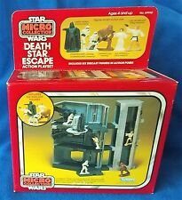 Vintage Star Wars Micro Collection Death Star Escape Playset MISB complete