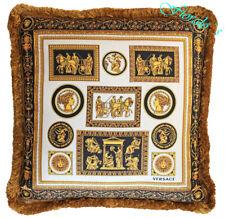 Versace Cornici Pillow - Classic Medusa Palazzo - Silk -