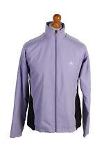 Vintage Adidas Three Stripes Tracksuit Top Shell Casual UNISEX L Purple - SW2002