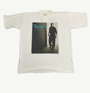 PHIL COLLINS Both Sides Of The World 1994 Vintage Tour T Shirt Official XL