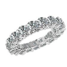 2.25 Carat White SI2 Round Diamond Solitaire Engagement Ring 14K White Gold