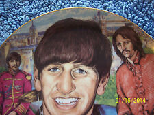 "ULTRA RARE! RINGO STARR Gartlan PRODUCTION PROOF Large 10.25"" Plate Beatles 1996"
