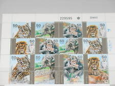 Israel 1992 Klb MS 1240-43 Animals in Zoo Fauna MNH