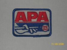 APA 2003 MEMBERSHIP PATCH PATCHES AMERICAN POOLPLAYERS
