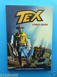 fumetti tex n. 80 collezione storica a colori l'idolo azteco fumetti repubblica