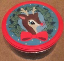 LUSH DEER TIN INCLUDES BATH BOMB,SOAP & BUBBLE BAR BRAND NEW