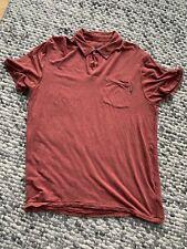Mens Prana polo shirt medium