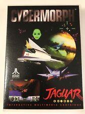 Cybermorph - Atari Jaguar - Replacement Case - No Game