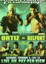 2010 TOPPS UFC SERIES 4 INSERT POSTER 51 TITO ORTIZ VITOR BELFORT NICK DIAZ