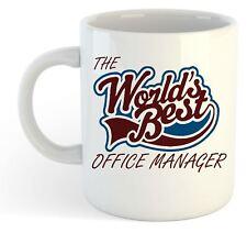 the Worlds Best bureau Manager Tasse