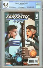 Ultimate Fantastic Four #21 CGC 9.6 WP (2005) 2097626023 Variant Edition