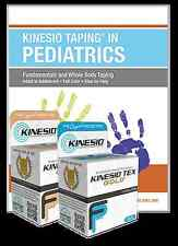 KINESIO Starter Pack. PAEDIATRICS Application Book & 2 Rolls of Kinesio FP Tape